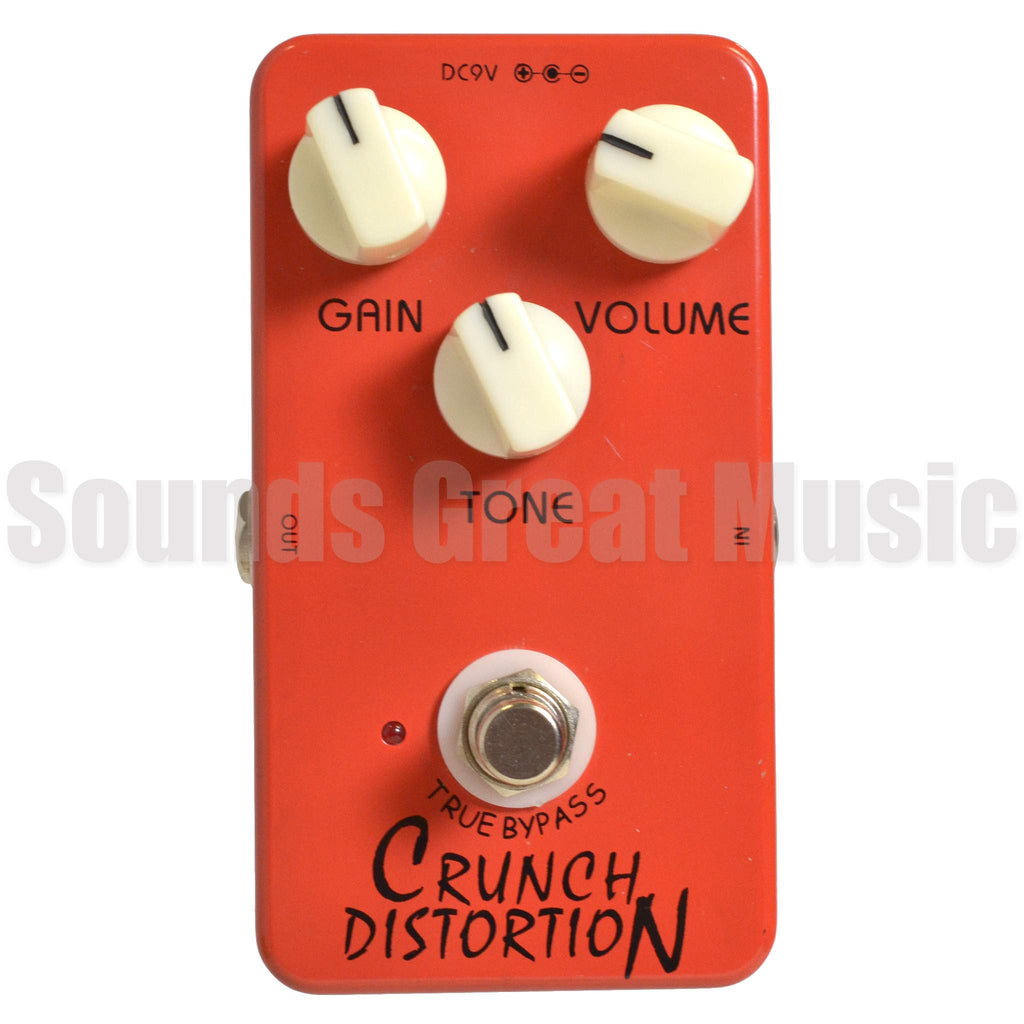 Rocktronic Crunch Distortion Second Hand Stomp Box, Rocktronic, Sounds Great Music