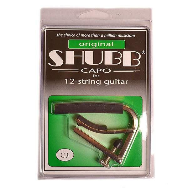 Shubb capo for 12-string guitar c3 Guitar Accessories, Shubb, Sounds Great Music