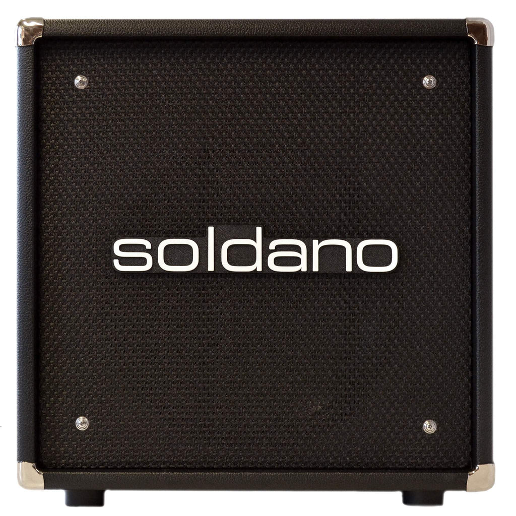 Soldano 112 Cab Black Cabinet, Soldano, Sounds Great Music