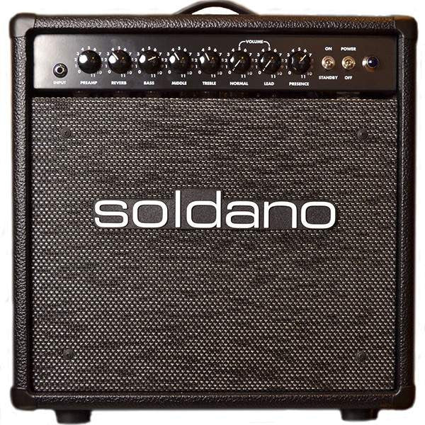 Soldano 44 Combo Black Silver Sparkle Grille - Combos - Soldano - Sounds Great Music