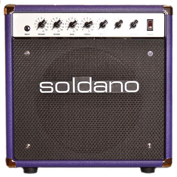 Soldano Astroverb 16 112 Purple Combos, Soldano, Sounds Great Music