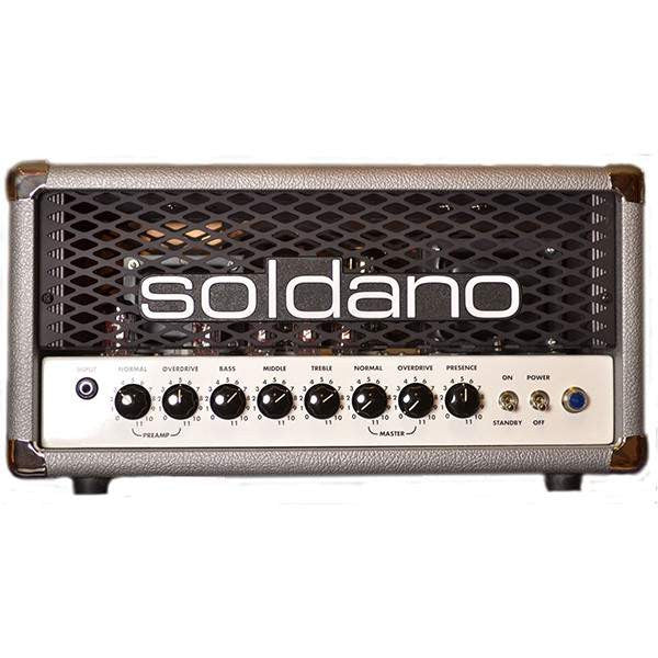 Soldano Hot Rod 25 Head Silver Anniversary Amplifier Head, Soldano, Sounds Great Music