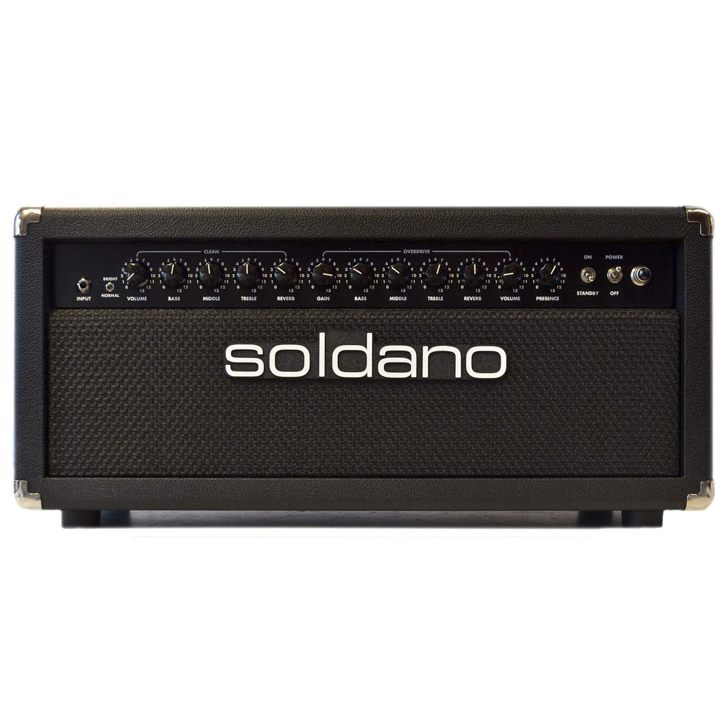 Soldano Lucky 13 50w Head Black - Amplifier Head - Soldano - Sounds Great Music