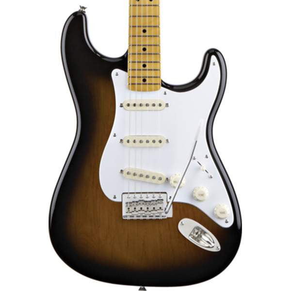 Squier Classic Vibe Stratocaster 50s, Maple Fingerboard, 2-Color Sunburst Electric Guitar, Squier, Sounds Great Music