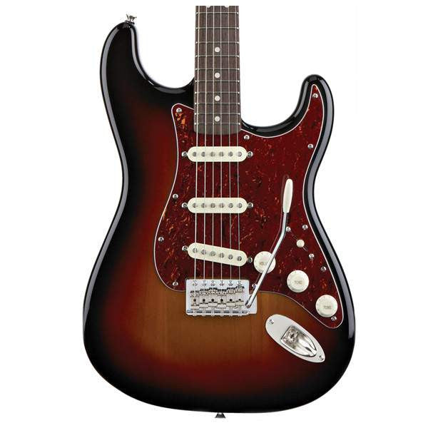 Squier Classic Vibe Stratocaster 60s, Rosewood Fingerboard, 3-Color Sunburst Electric Guitar, Squier, Sounds Great Music