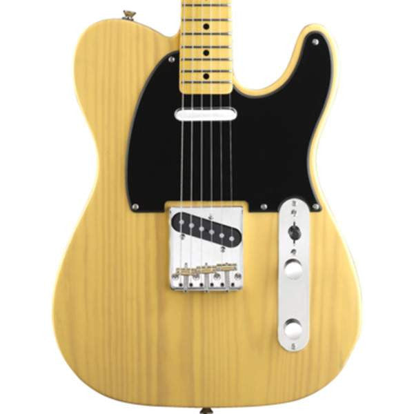 Squier Classic Vibe Telecaster 50s, Maple Fingerboard, Butterscotch Blonde Electric Guitar, Squier, Sounds Great Music