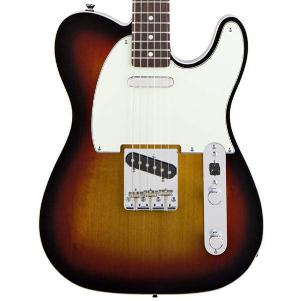 Squier Classic Vibe Telecaster® Custom, Rosewood Fingerboard, 3-Color Sunburst Electric Guitar, Squier, Sounds Great Music