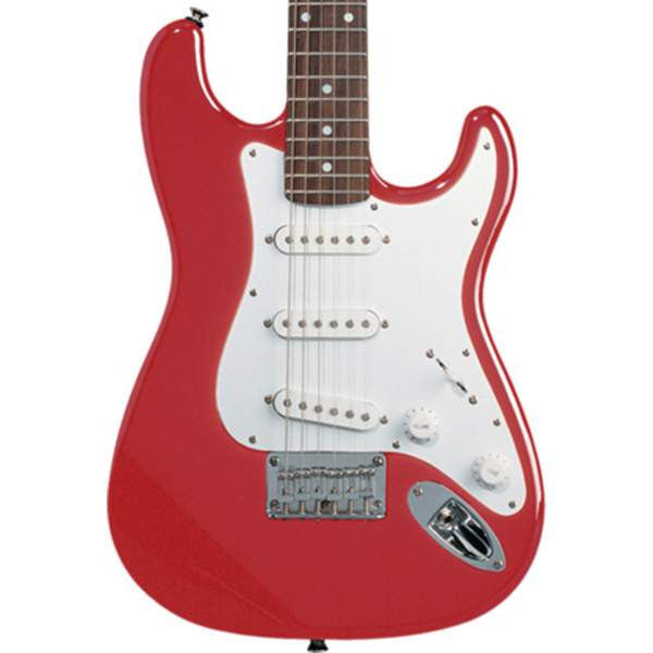 Squier Mini Strat Torino Red Electric Guitar, Squier, Sounds Great Music