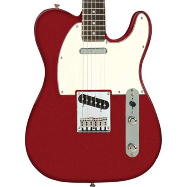 Squier Standard Telecaster, Rosewood Fingerboard, Candy Apple Red Electric Guitar, Squier, Sounds Great Music