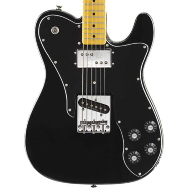 Squier Vintage Modified Telecaster, Maple Fingerboard, Custom Black Electric Guitar - Electric Guitar - Squier - Sounds Great Music