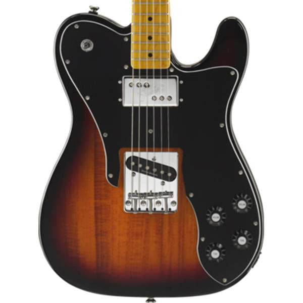 Squier Vintage Modified Telecaster® Custom, Maple Fingerboard, 3-Color Sunburst Electric Guitar, Squier, Sounds Great Music