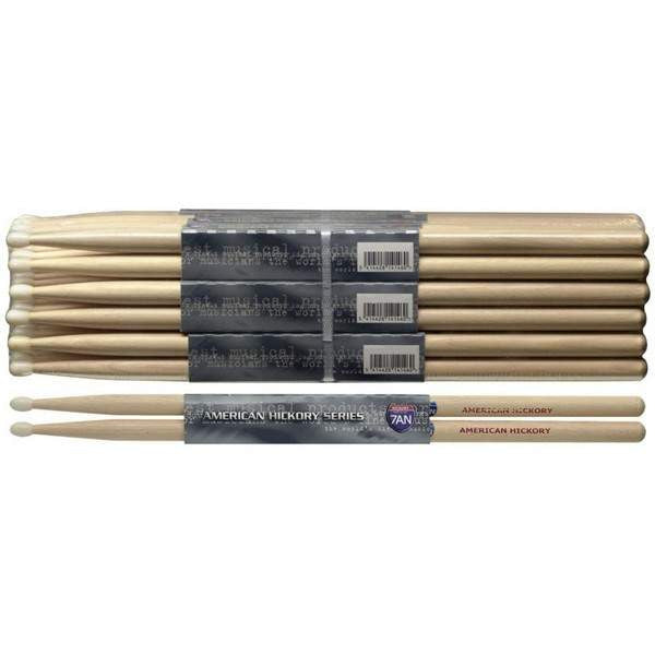 STAGG 1PR.HICKORY STICKS-NYLON SH7AN Drumsticks, Stagg, Sounds Great Music