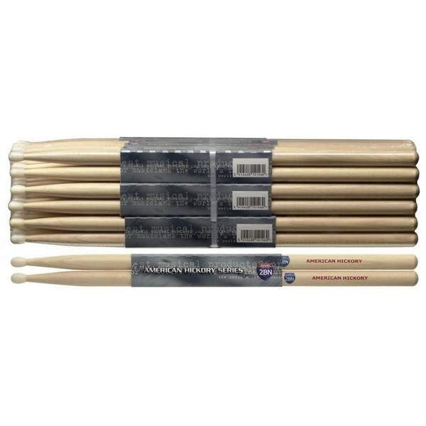 STAGG 1PR.HICKORY STICKS-NYLON/2BN SH2BN Drumsticks, Stagg, Sounds Great Music
