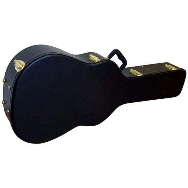 STAGG BASIC WESTERN GUITAR CASE-BLACK  GCA-W BK - Guitar Hardcase - Stagg - Sounds Great Music