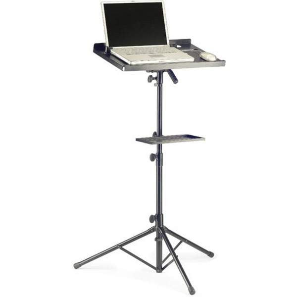 STAGG COMPUTER STAND +EXTRA TABLE COS-10 BK Orchestral Accessories, Stagg, Sounds Great Music
