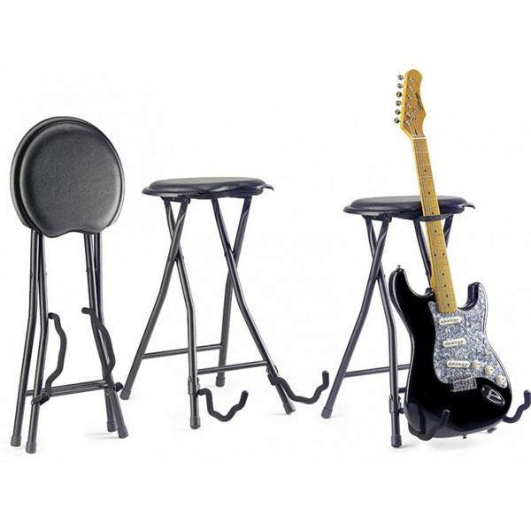 STAGG FOLDABLE GUITAR STOOL+STAND  GIST-300 Guitar Accessories, Stagg, Sounds Great Music
