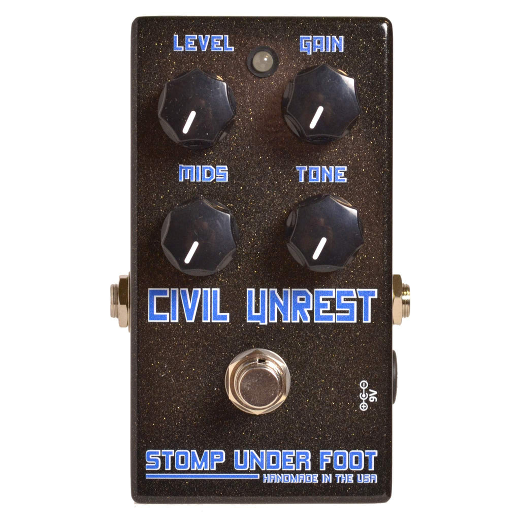 Stomp Under Foot Civil Unrest - Stomp Box - Stomp Under Foot - Sounds Great Music
