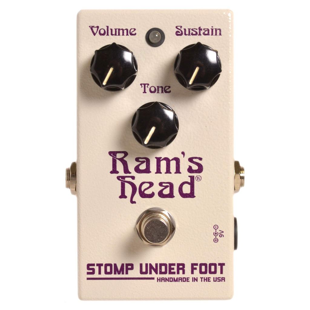 Stomp Under Foot Ram's Head - Stomp Box - Stomp Under Foot - Sounds Great Music