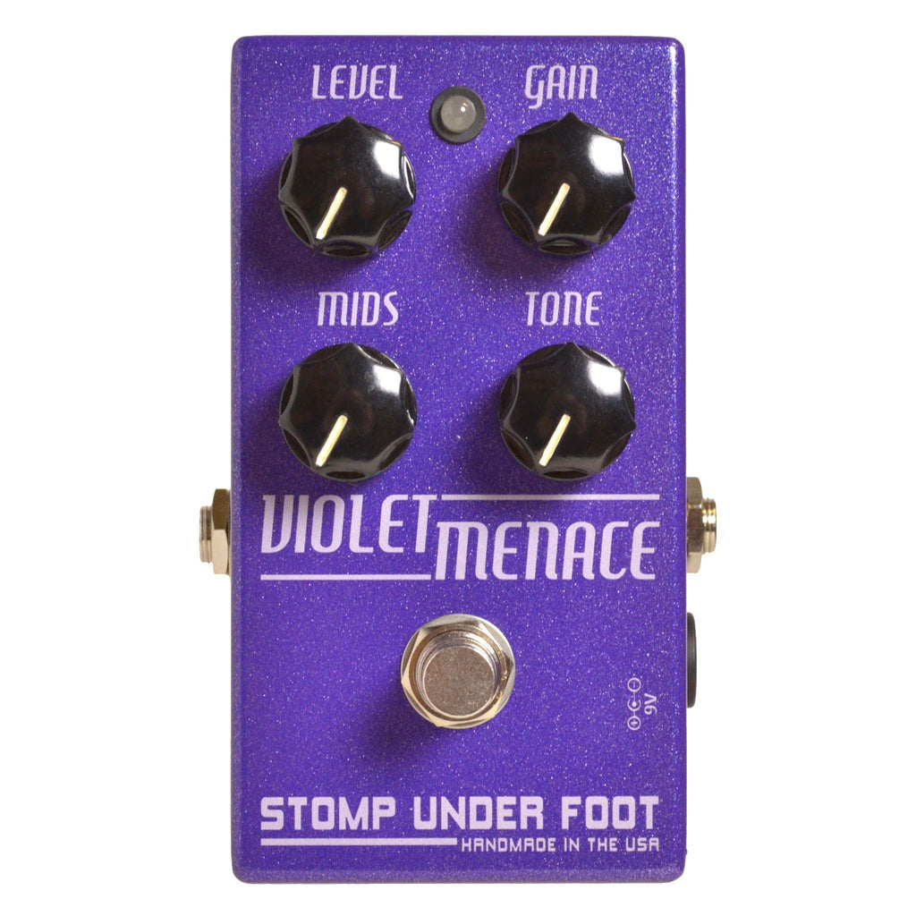 Stomp Under Foot Violet Menace - Stomp Box - Stomp Under Foot - Sounds Great Music
