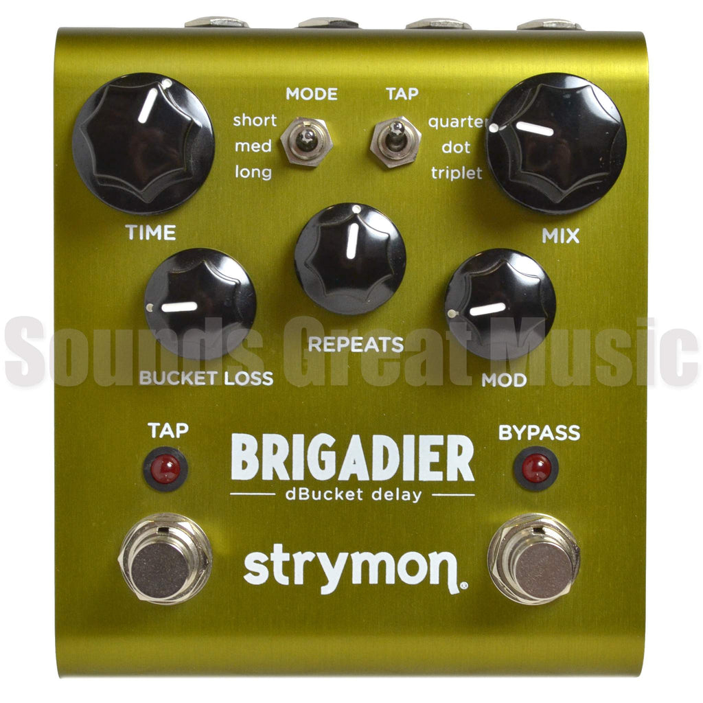 Strymon Brigadier dBucket Delay Second Hand Stomp Box, Strymon, Sounds Great Music