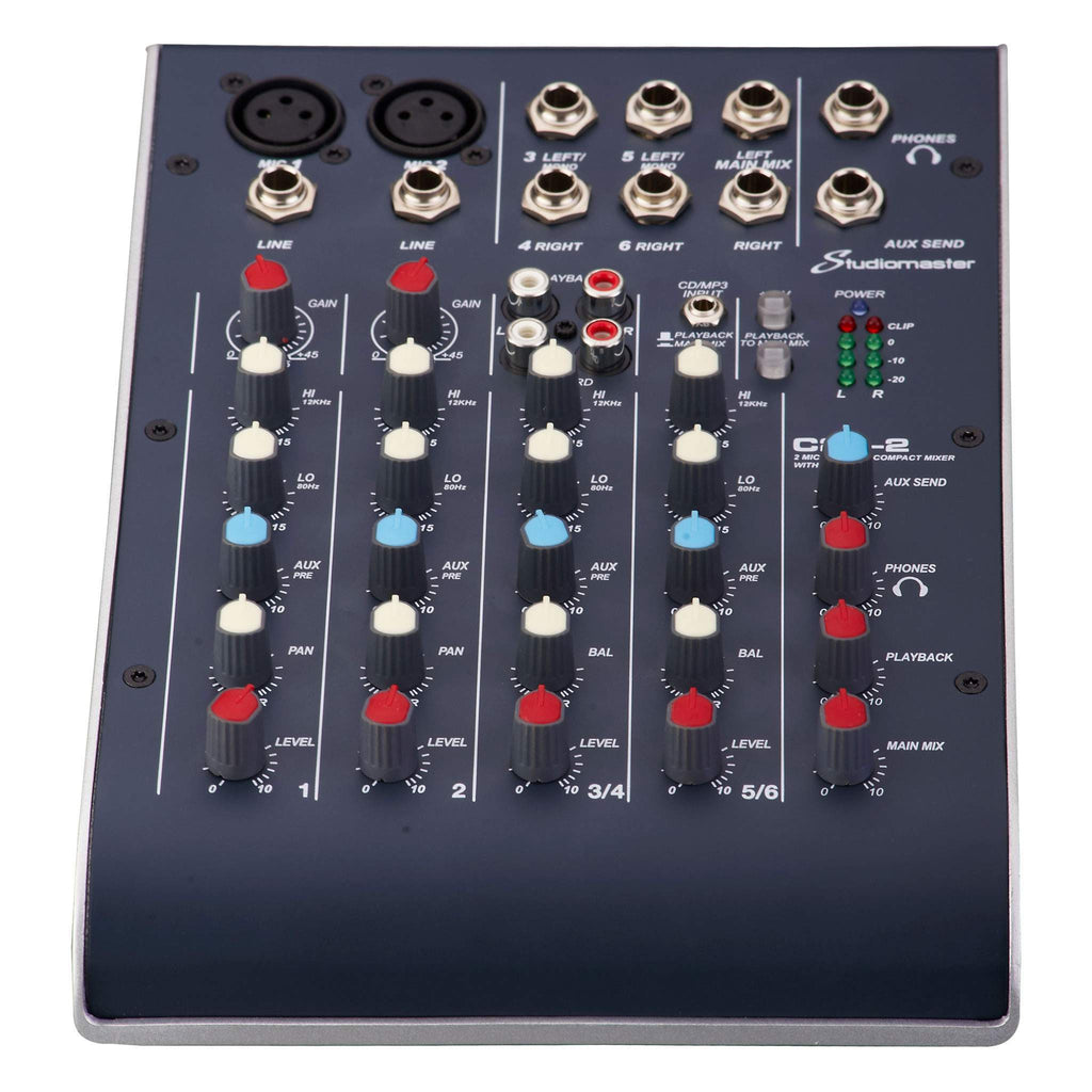 Studiomaster C2-2 Compact Mixer Mixer, Studiomaster, Sounds Great Music