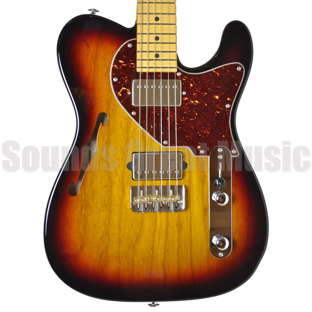 Suhr Alt T Pro Sunburst #JST8X9K Electric Guitar, Suhr, Sounds Great Music