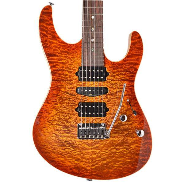 Suhr Modern Copperhead Burst #17756 Electric Guitar - Electric Guitar - Suhr Past Orders - Sounds Great Music
