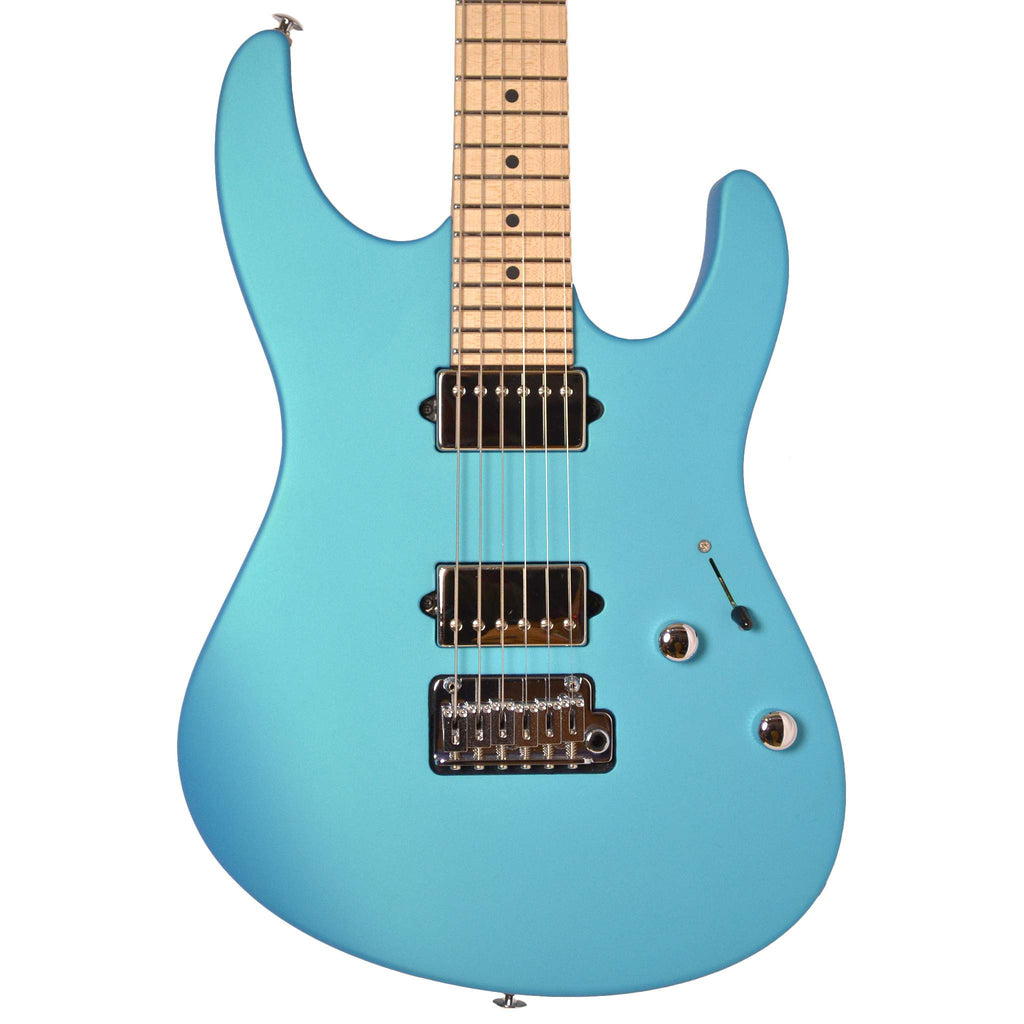 Suhr Modern Maple Neck Blue Chill Electric Guitar - Electric Guitar - Suhr Past Orders - Sounds Great Music