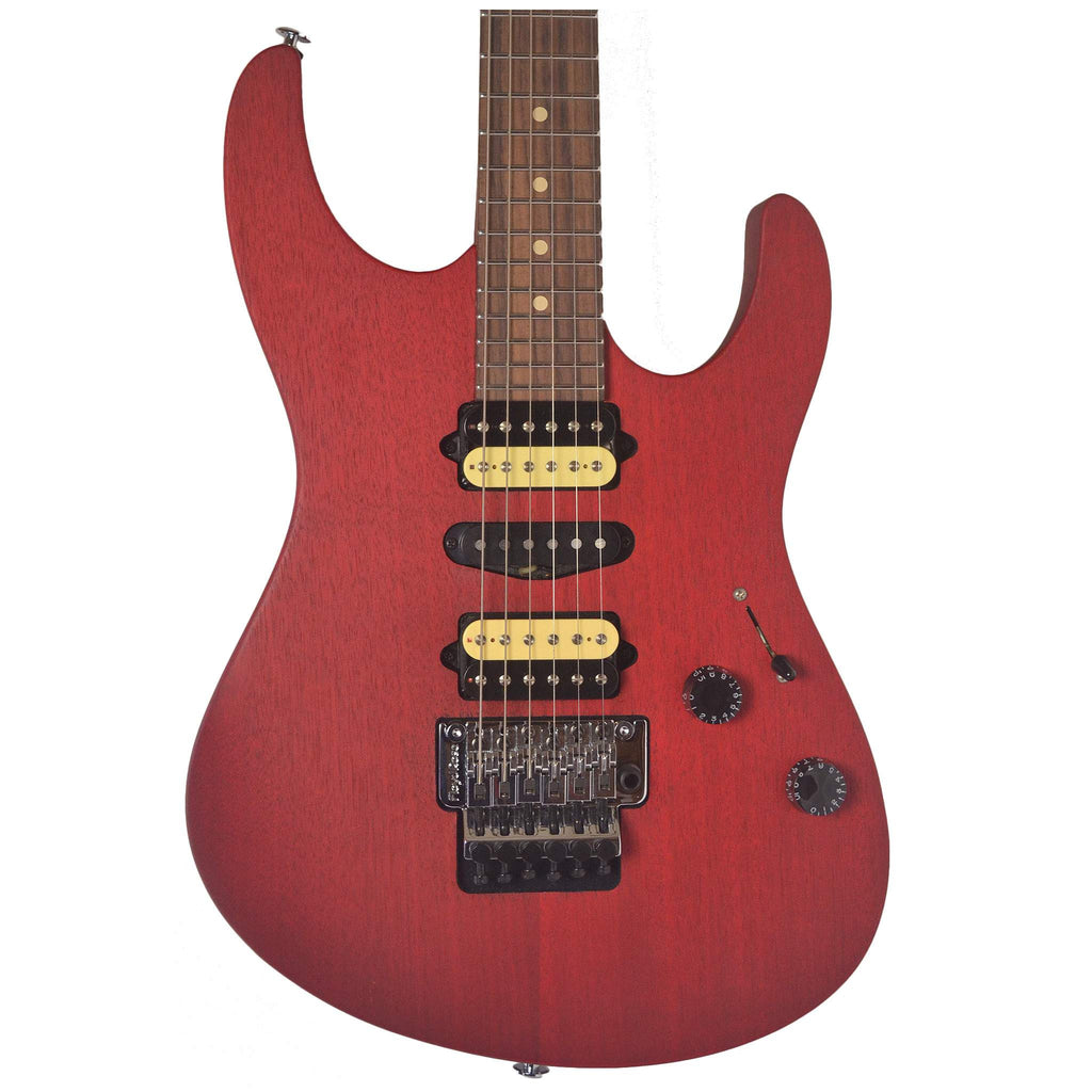 Suhr Modern Satin Cherry HSH Floyd #24759 Electric Guitar - Electric Guitar - Suhr - Sounds Great Music