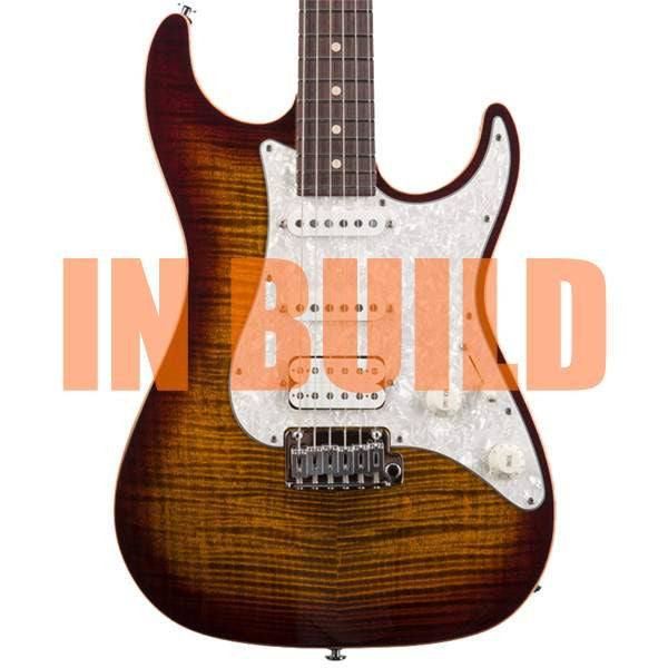 Suhr Standard Pro HSS Gotoh 510 Bengal Burst Electric Guitar, Suhr, Sounds Great Music