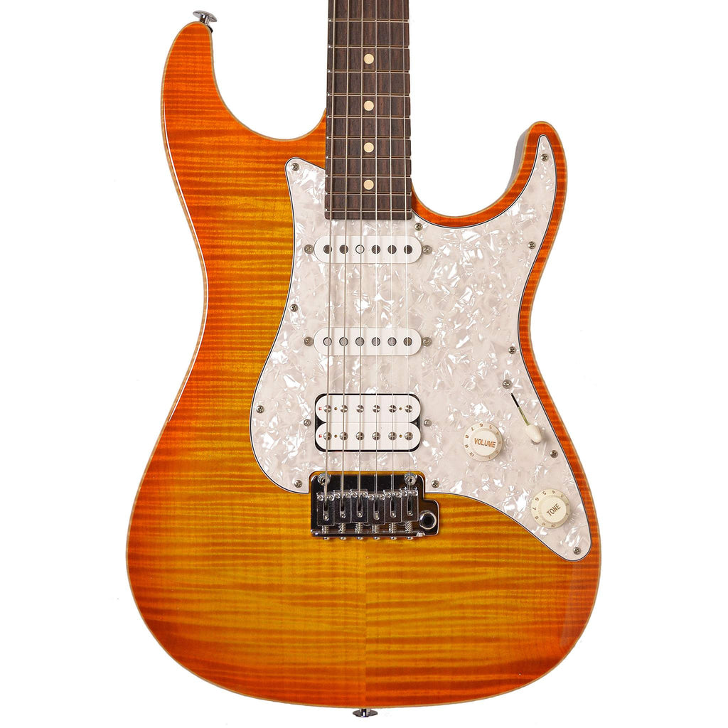 Suhr Standard Pro, 510, SSH, Rosewood, Trans Honey Amber Burst #25605 Electric Guitar, Suhr, Sounds Great Music