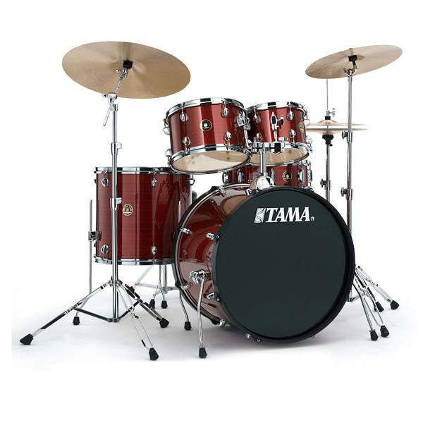Tama Rhythm Mate Red Stream Drum Kits Acoustic, Tama, Sounds Great Music