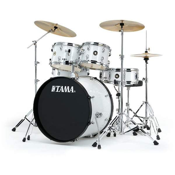 Tama Rhythm Mate White Drum Kits Acoustic, Tama, Sounds Great Music