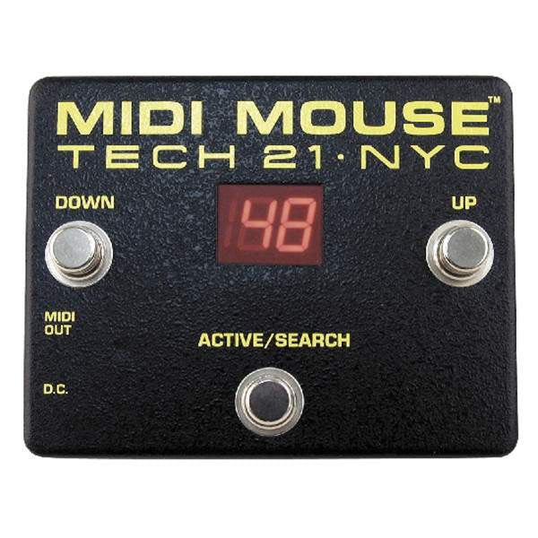 Tech 21 MIDI Mouse FX Controller / Midi, Tech 21, Sounds Great Music