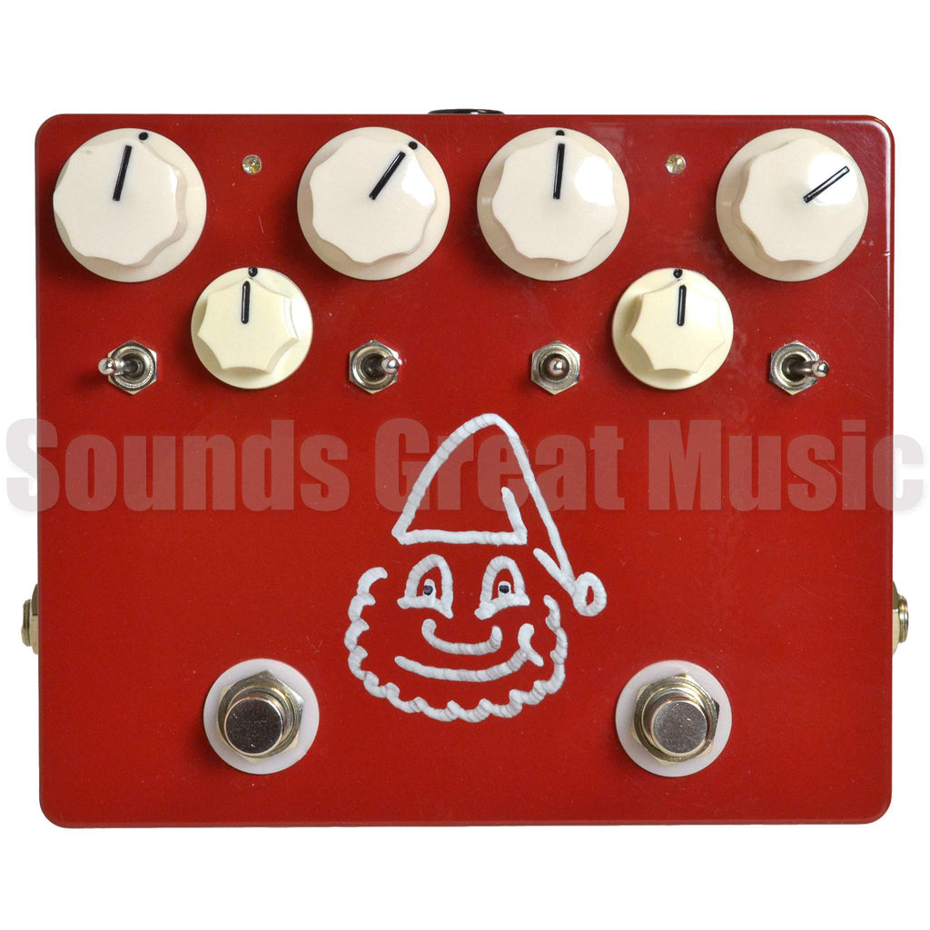 Tone Gnome Otto Drive Red Second Hand Stomp Box, Tone Gnome, Sounds Great Music