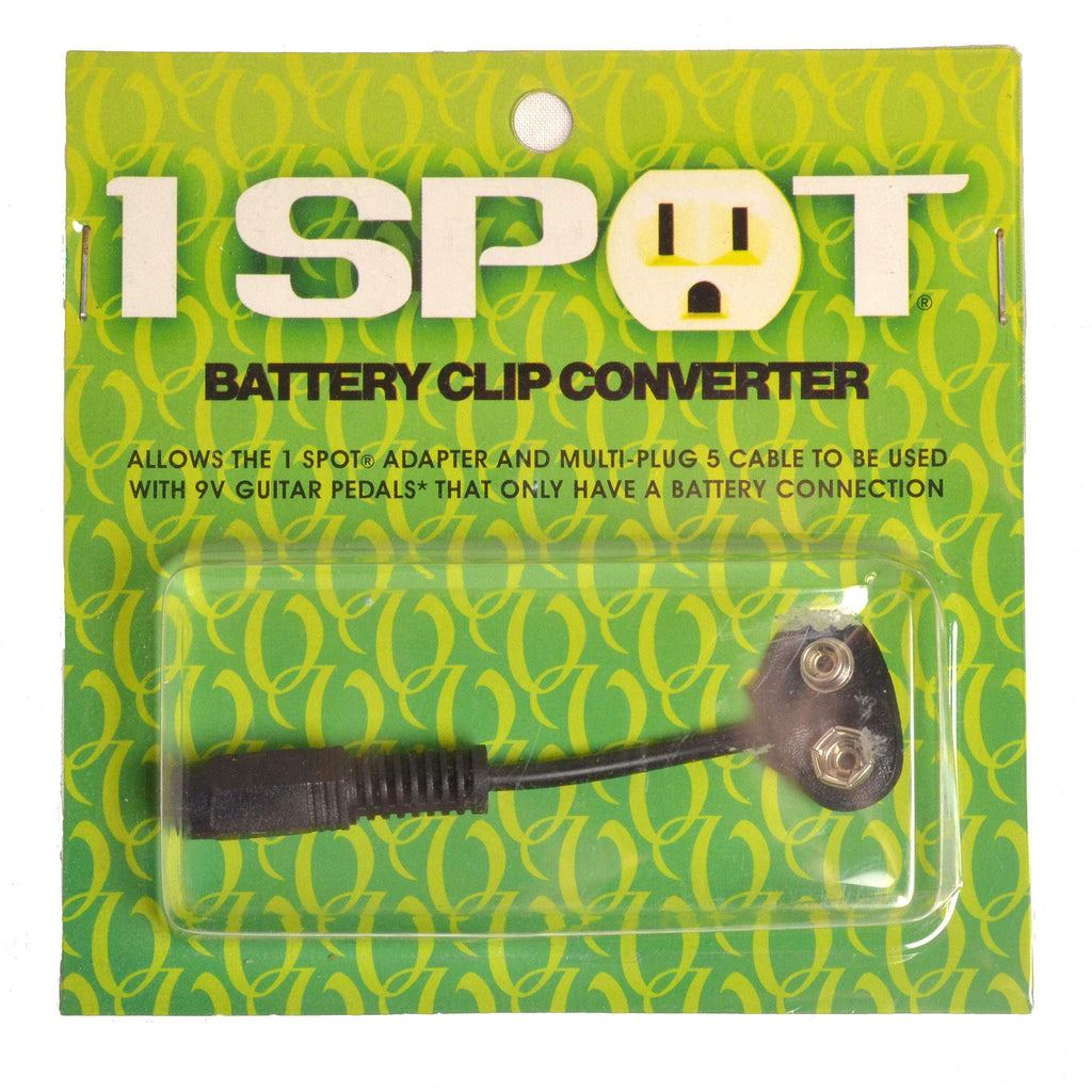Visual Sound CBAT Battery Clip for 1 Spot Cable, Visual Sound, Sounds Great Music
