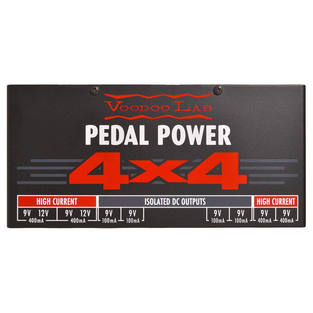 Voodoo Lab Pedal Power 4x4 Stomp Box, Voodoo Lab, Sounds Great Music