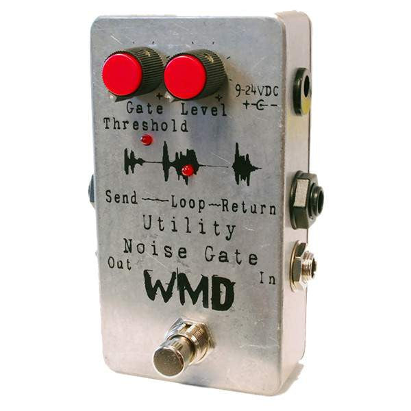 WMD Utility Series Noise Gate Stomp Box, WMD, Sounds Great Music