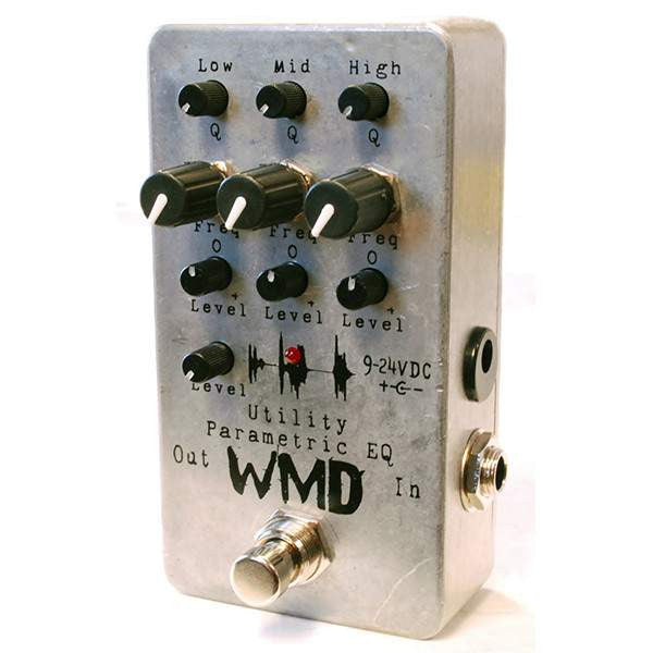 WMD Utility Series Parametric EQ Stomp Box, WMD, Sounds Great Music
