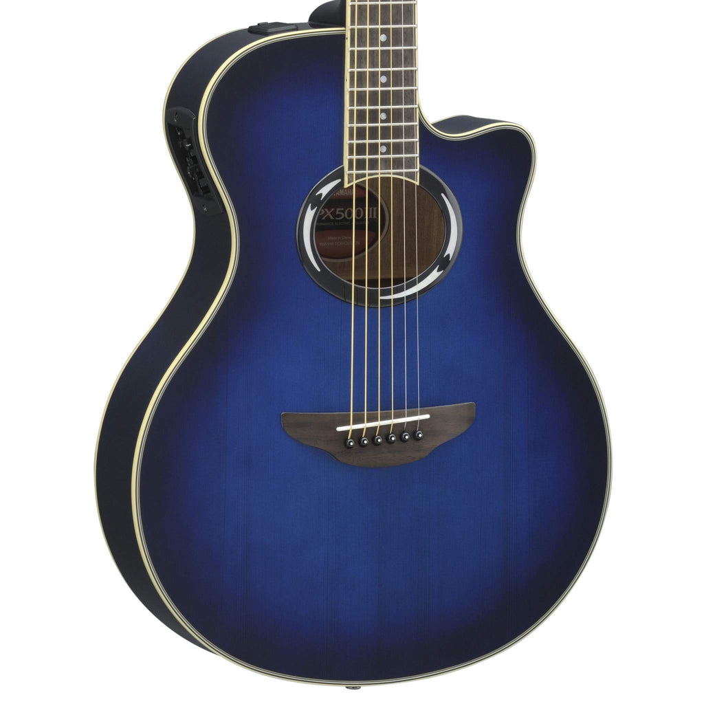 Yamaha APX500III Oriental Blue Burst Acoustic Guitar, Yamaha, Sounds Great Music