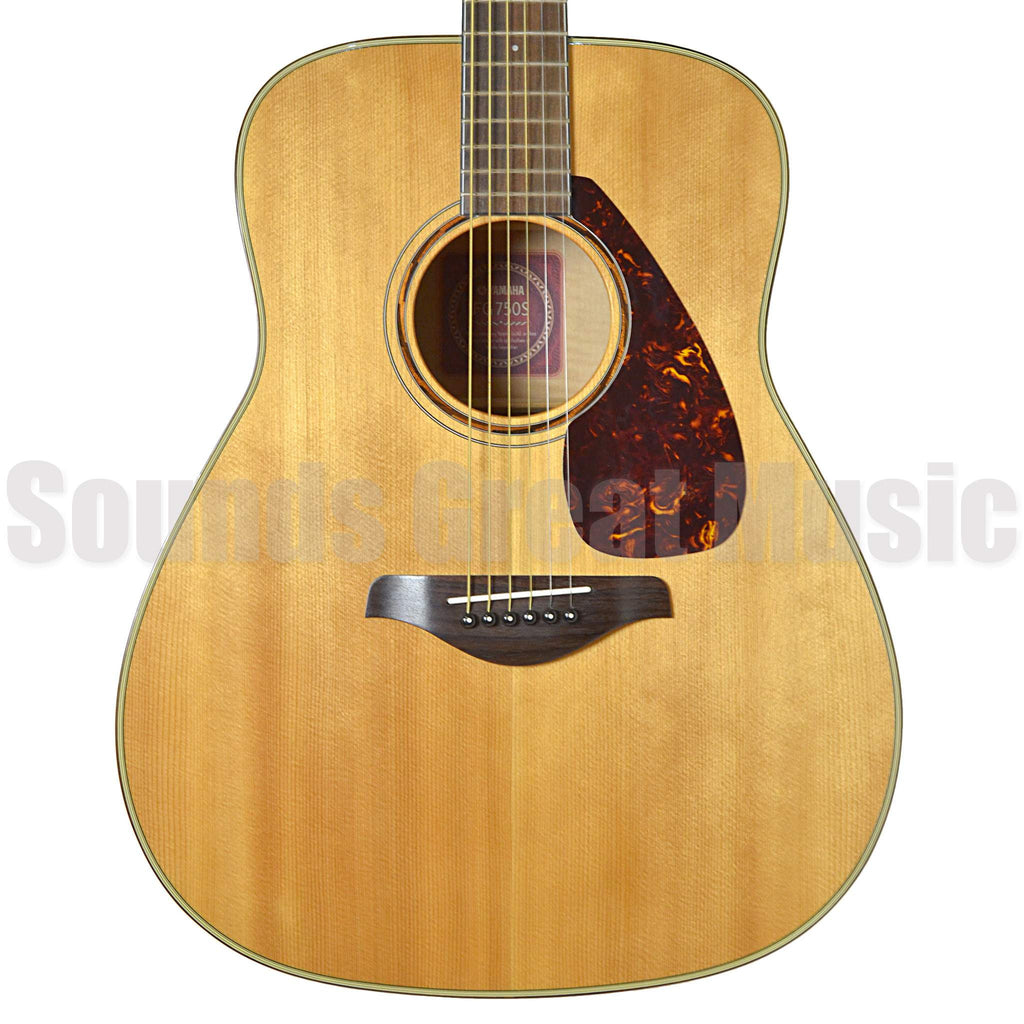Yamaha FG750S Natural Second Hand Acoustic Guitar, Yamaha, Sounds Great Music