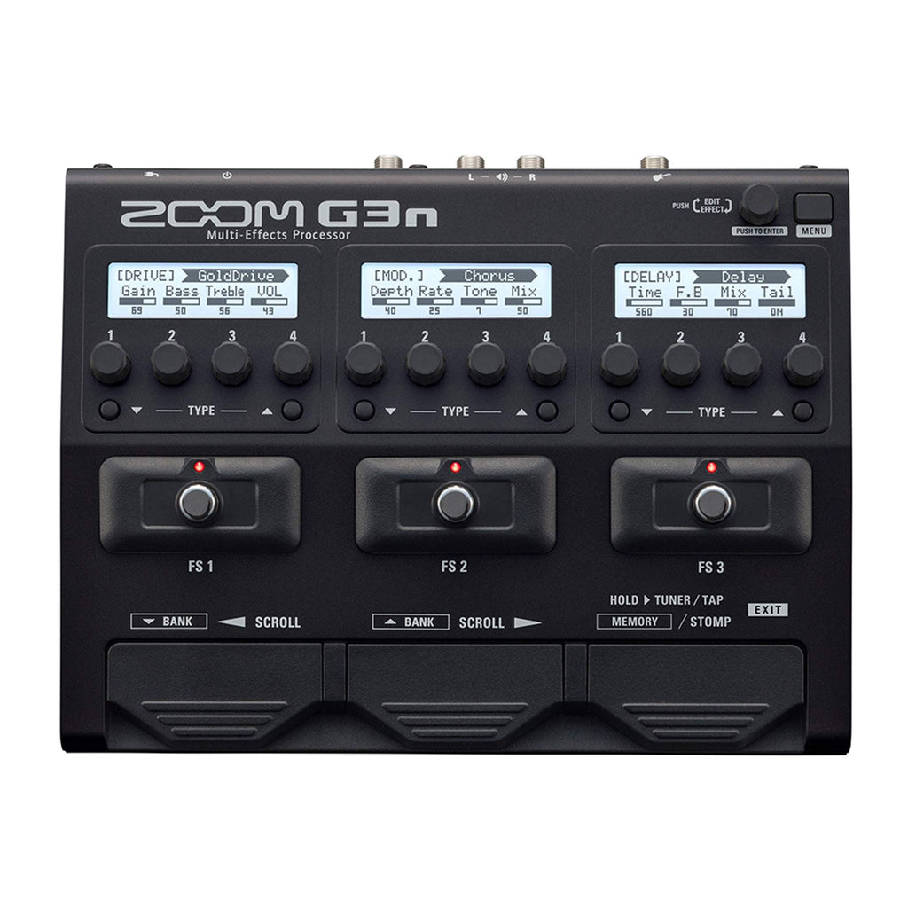 Zoom G3n Multi Effects Processor - Multi FX - Zoom - Sounds Great Music