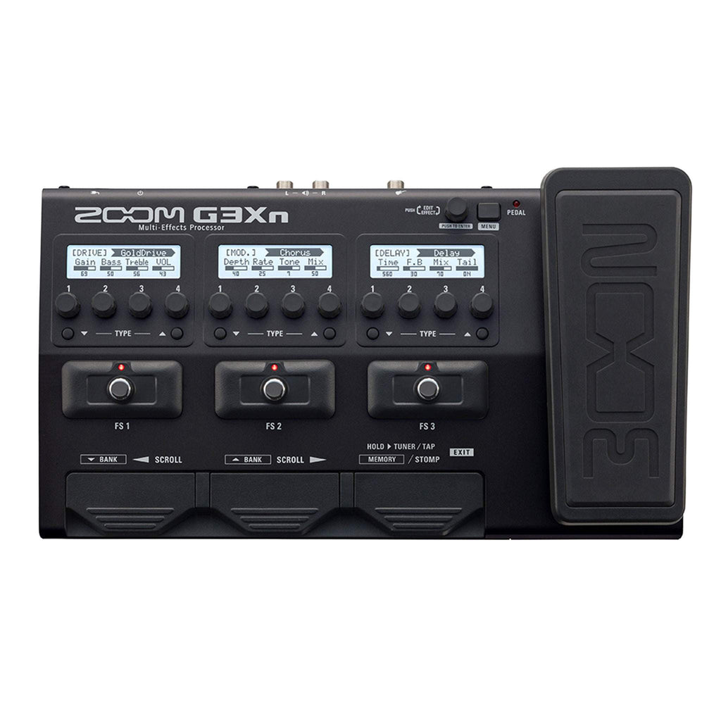 Zoom G3Xn Multi Effects Processor Multi FX, Zoom, Sounds Great Music