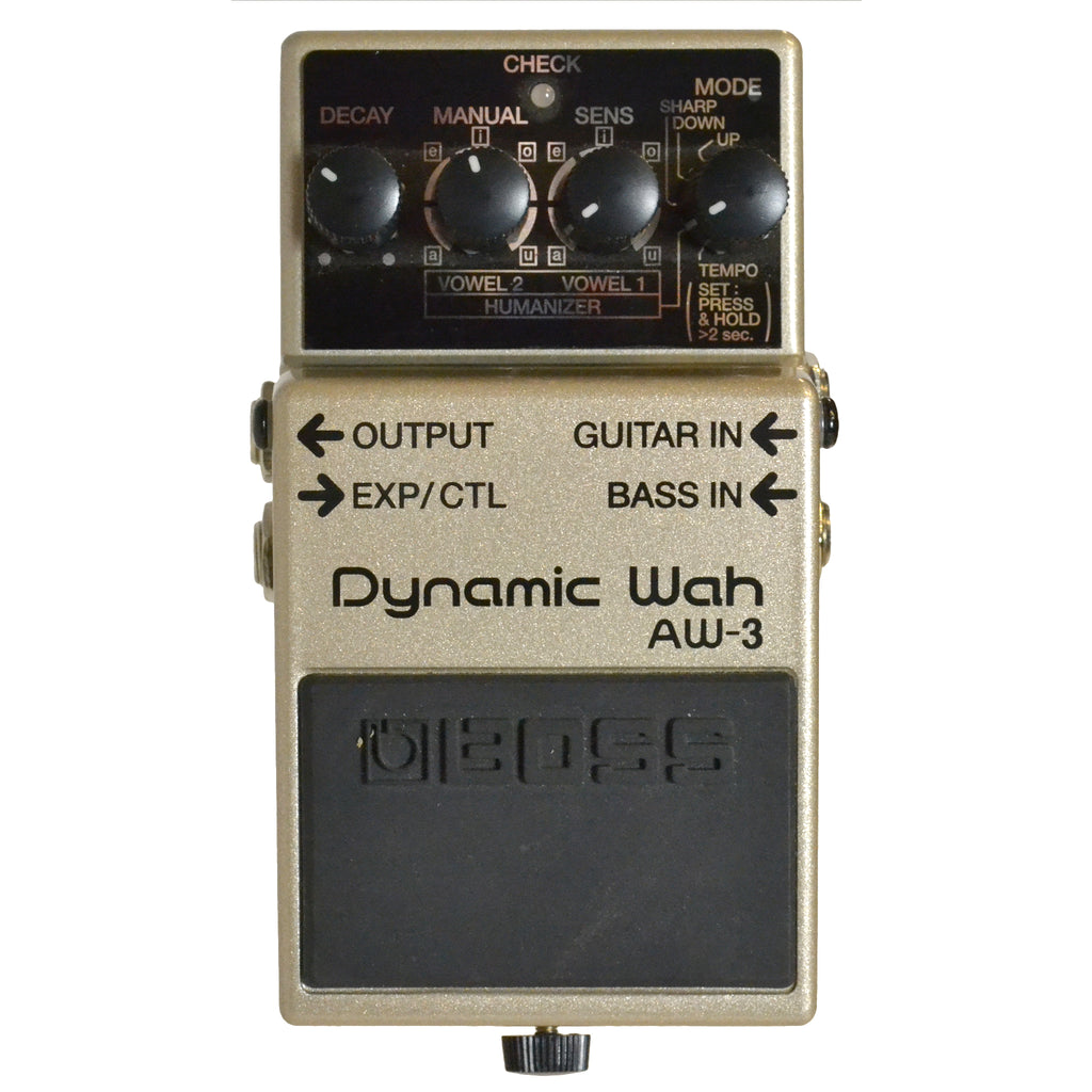 Boss AW-3 Dynamic wah Second Hand
