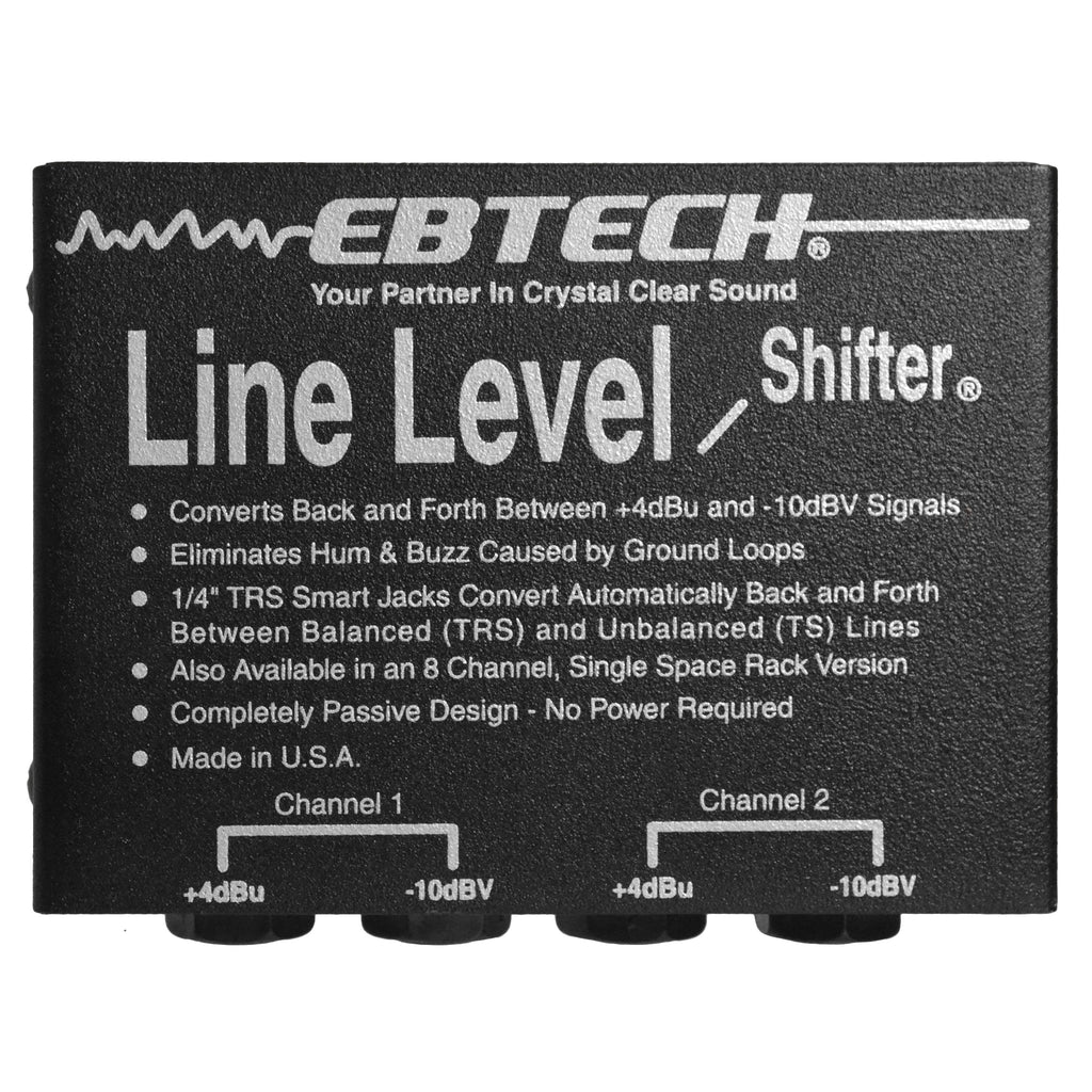 Ebtech LLS-2 Line Level Shifter Second Hand