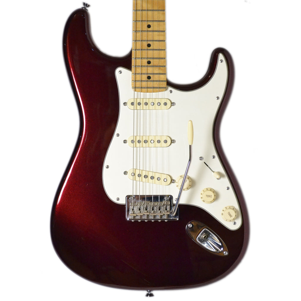 Fender USA 60th Anniversary Stratocaster Midnight Wine Red Inc Case Second Hand