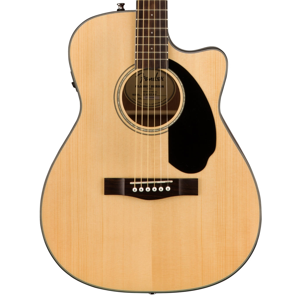 Fender CC-60SCE Natural Acoustic Guitar