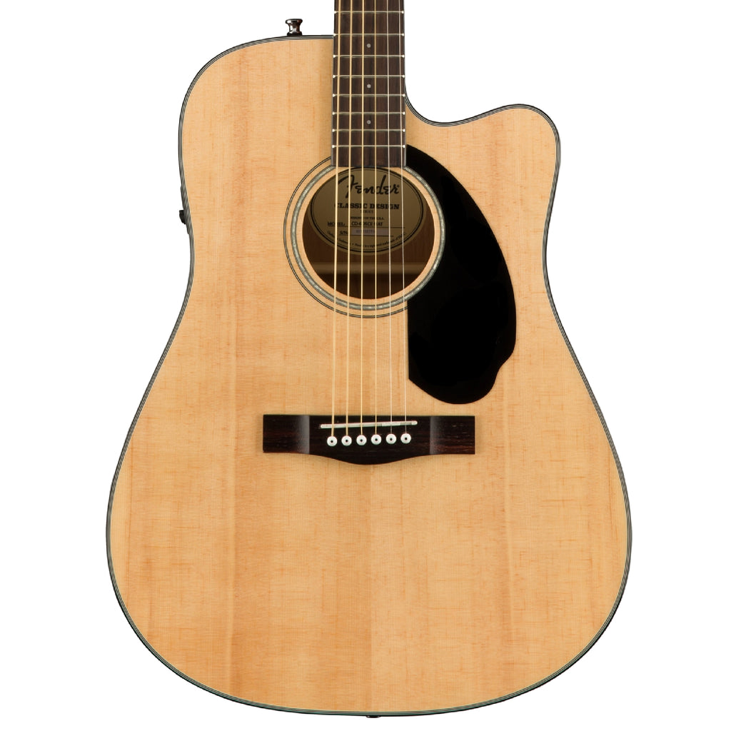 Fender CD-60SCE Natural Acoustic Guitar
