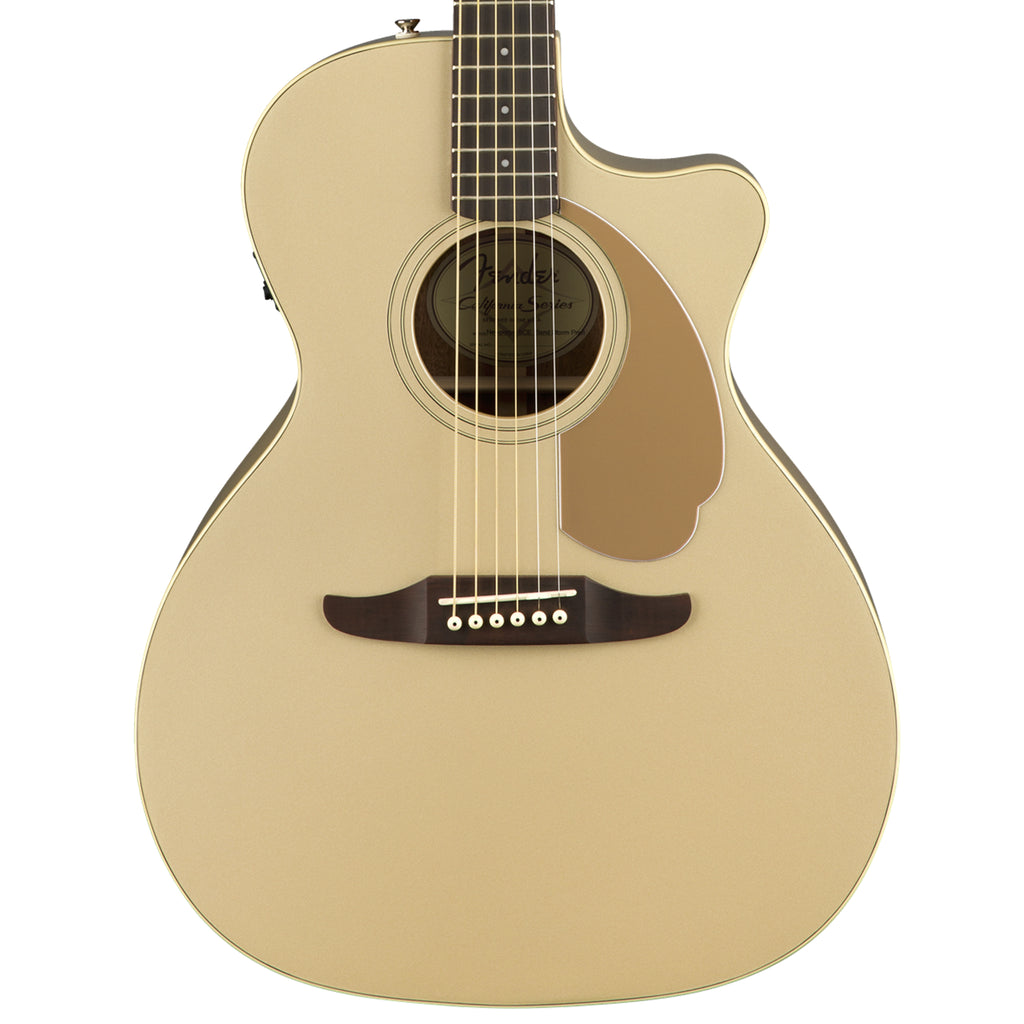 Fender Newporter Player Champagne Acoustic Guitar