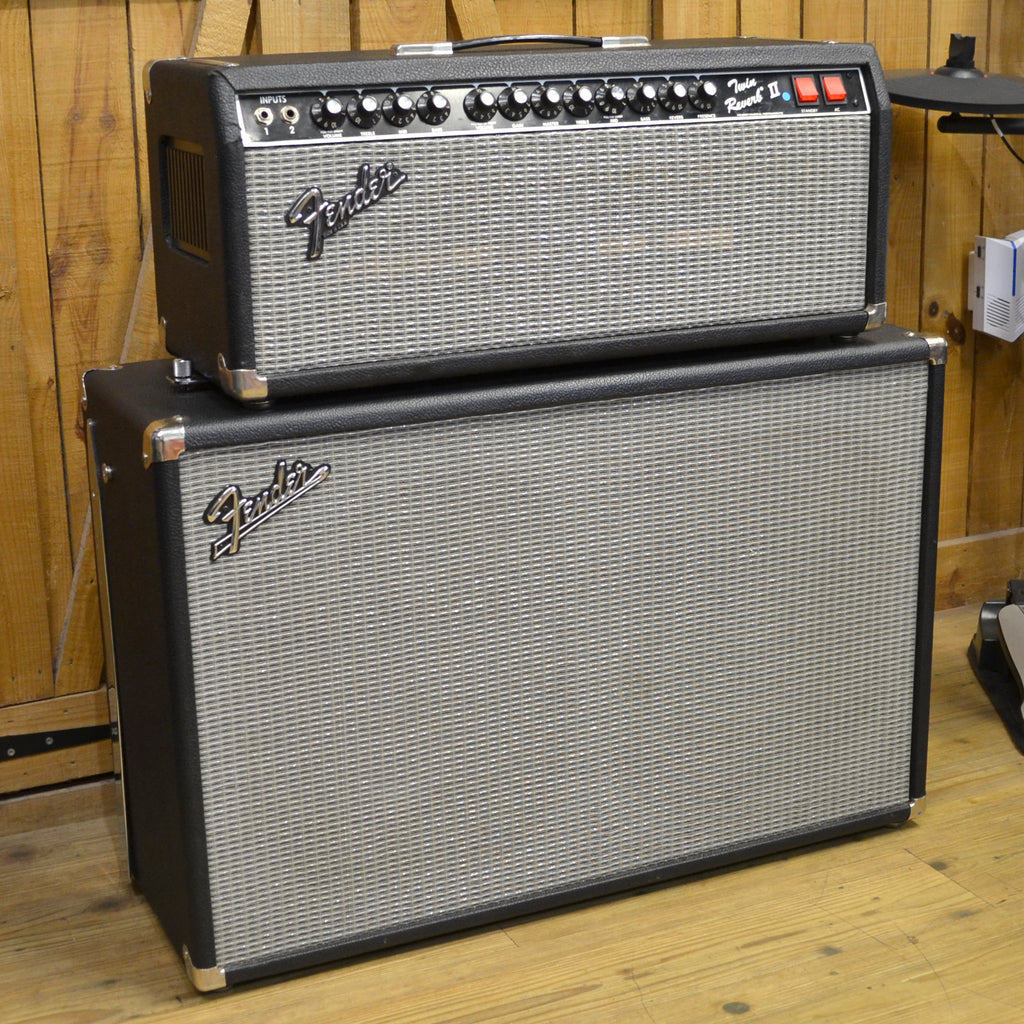 Fender Twin Reverb II Head and Bandmaster VM212 Cab Second Hand